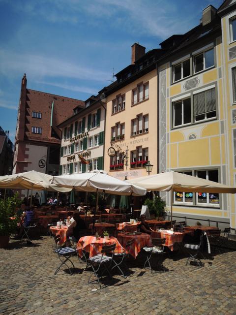 Münsterplatz in Freiburg