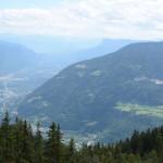 Der Giggelberg - jetzt in der Ferne